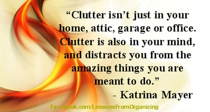 Decluttering Your Mind